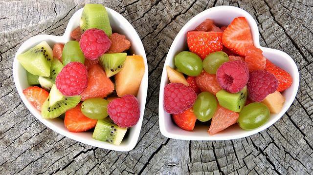 תזונה יפנית - הרבה פירות טריים